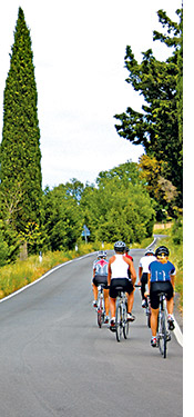 Tuscany biking photo